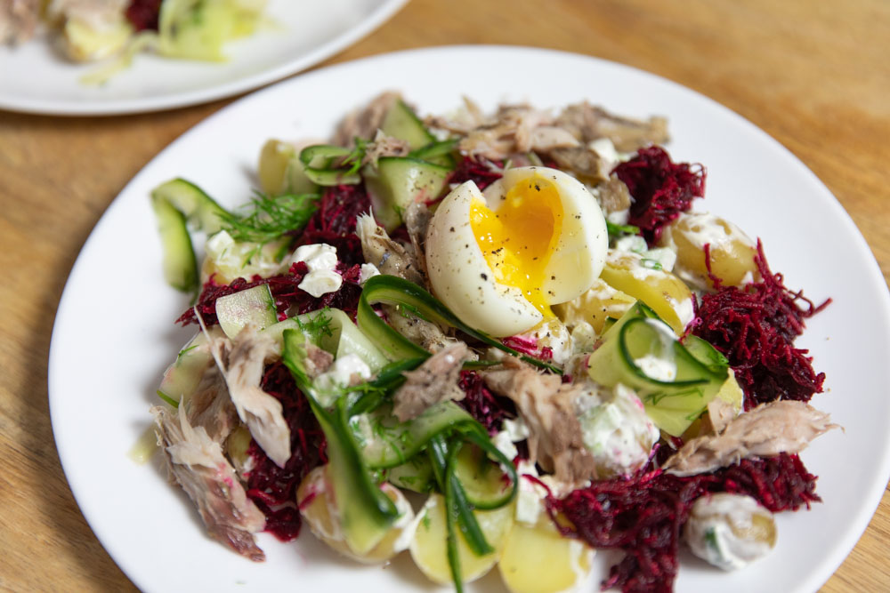 Potato Salad Recipe Horseradish Dill